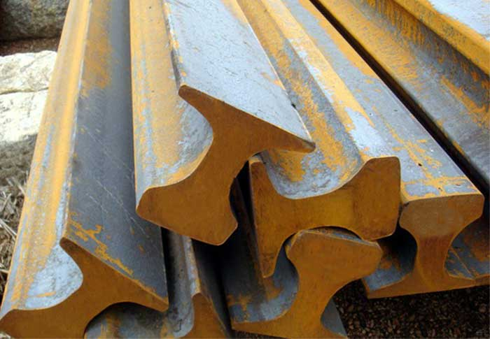 Steel Rail Of Different Standards For Railway Track