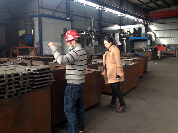 clients from Malaysia visit our factory