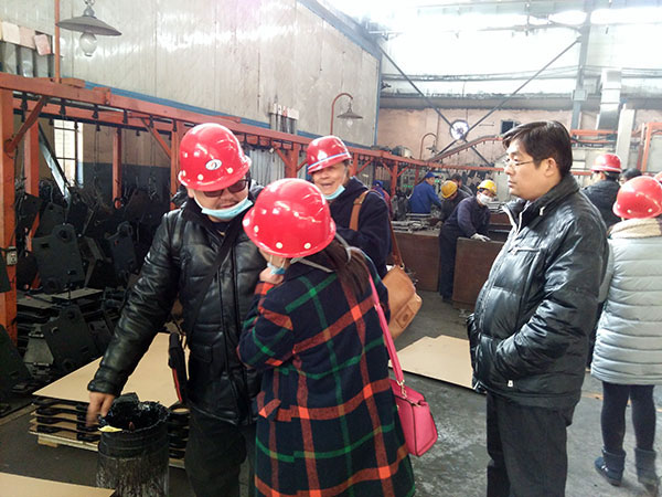 clients from Thailand visit our factory