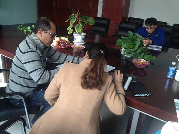 client from Malaysia are discussing with us