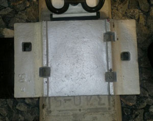 5 hole double shoulder tie plate