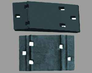 double shoulder tie plate