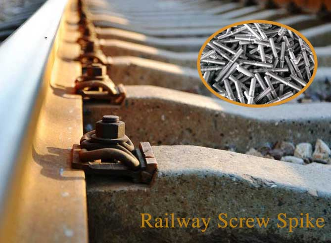 how to prevent railway screw spike from corrosion