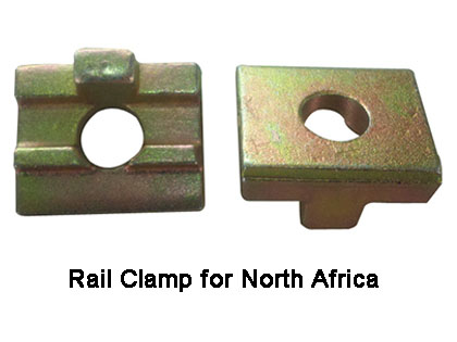 Rail Clamp for North Africa