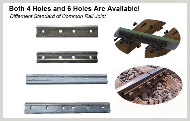 different standard of rail joint