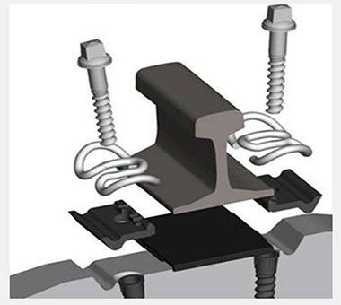 rail pad in fastening system