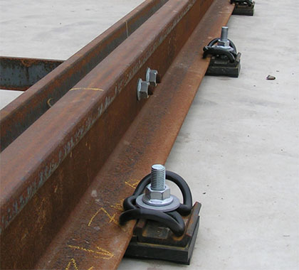 the function of rail fastening system